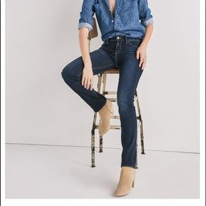 Lucky Brand Ava Straight Denim Jeans
